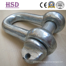 DIN82101 D Shackle, Drop Forged Form a, Anchor Shackle, Rigging Hardware, Marine Hardware
