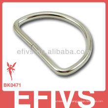 Кольцо D из нержавеющей стали с пряжкой