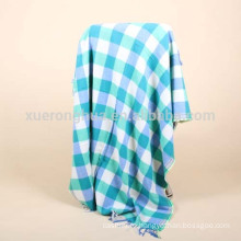 Plaid square wool throw blanket for winter Inner Mongolia Origin