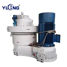 Máquina de fabricación de pellets de carbón activado de 250KW