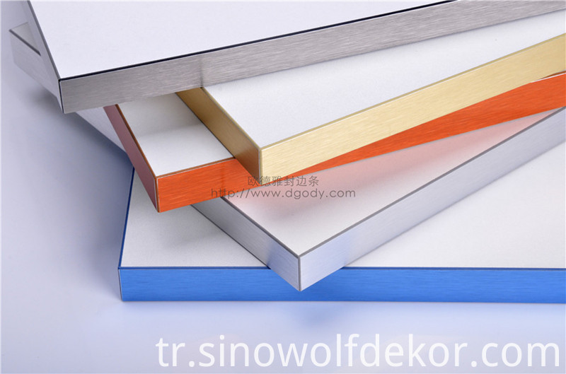 Furniture Aluminum Edging Banding Tapes