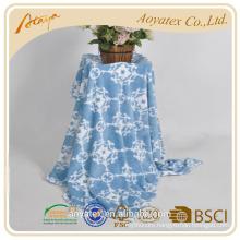 printed muslin swaddle flannel fleece blanket
