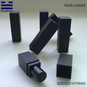 Hot Sale Black Square Lipstick Tube