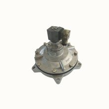 Right angle diaphragm valve for dust remover