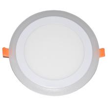 Светодиодный Прожектор/двойной Цвет круглый световой панели