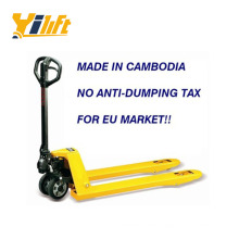 BST series Cambodia made no anti-dumping pallet jack 2 ton