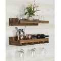 Hanging Make Solid wood wine glass rack