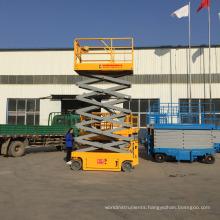 hydraulic trolley scissor lift platform