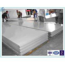 1050 Placa de alumínio para lâmpada fluorescente