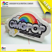 China Lieferanten Fenster Aufkleber Druck und benutzerdefinierte Logo Aufkleber Druck