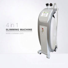 2018 new vacuum RF roller +ultrasonic cavitation infrared laser weight loss slimming machine