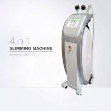 2018 новый вакуум ролика RF +ультразвуковая кавитация инфракрасный лазер потеря веса уменьшая машину