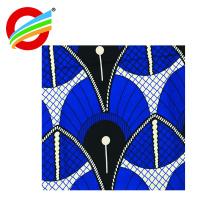 Le prix le plus bas africain cire duplex imprime tissu en gros