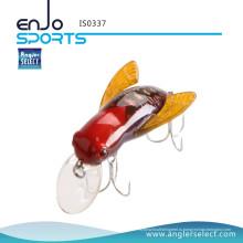 Рыболовный рыболовный снаряд для рыболовных снастей с приманкой для насекомых Lure Realistic Bumble Bee / Bug / Fly Плавучий рыболовный крючок из пресноводной рыбы с приманкой из крана (IS0337)