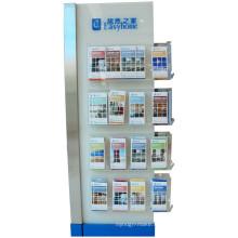 Brochure de livre de journaux Documents Magazine Présentoir de supports en acrylique en métal