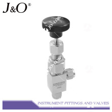 Válvula de aguja para instrumentos de acero inoxidable de alta presión Swagelok