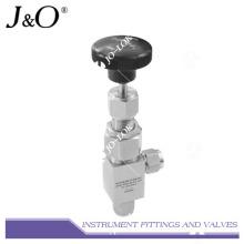 Válvula de agulha de aço inoxidável de tipo Swagelok de alta pressão