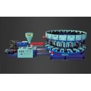 Machine automatique de moulage par injection de type de disque