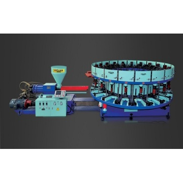 Automatisk skivtyp Injection Molding Machine