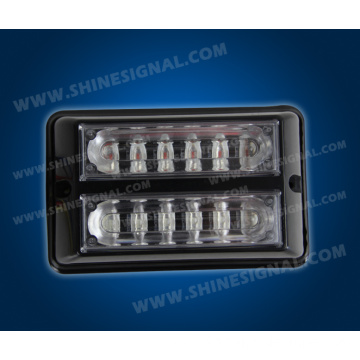 LED Grill Dash Multi Flash Vehicle Head Surface Light