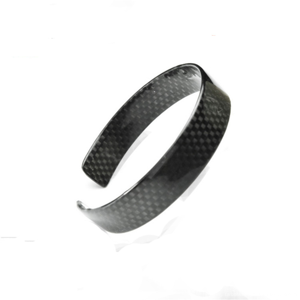 Customized Carbon Fiber Bracelet