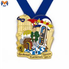 Medalhas comemorativas do prêmio de carnaval de metal personalizado