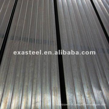 Q235B tube d'acier carré galvanisé