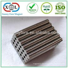 D0603 Runde Neodym Magnete 6 x 3 mm