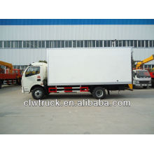 Dongfeng 4x2 van truck,insulated van truck for sale