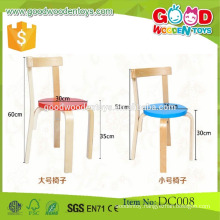 DC008 Hot sale wholesale preschool wooden children chairs