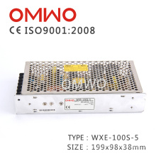 CA 100-240V da tensão de entrada do interruptor da fonte de alimentação Wxe-100s-5 a CC 5V 100W