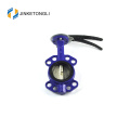 Manual Single Eccentric Wafer Butterfly Valve