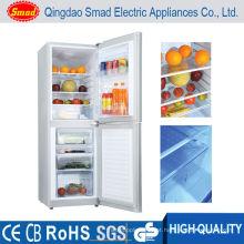 Congelador de refrigerador ereto livre da energia solar do refrigerador da casa da CC de 12V 24V