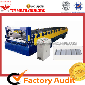 Best Price for Roof Roll Forming Machine, Tile Roll Forming Machine | Roof Tile Roll Forming Machine roof panel tile roll forming machine export to Morocco Manufacturer