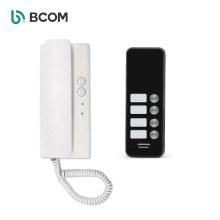 Bcom smart home security system 2 ways intercom system audio interphones