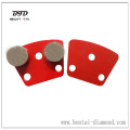 Trapezoid Magnetic Diamond Grinding Plate for Concrete and Terrazzo