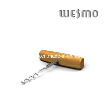 Bamboo Cup Mat Wine Corkscrew (WTB0510A)