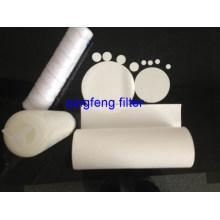 Membrana de filtro PTFE de 0.22um para filtración respiratoria