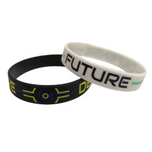 Customized Logo Silicone Bracelets Sports Wristband Bracelet