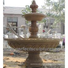 Fontaine d'eau en marbre en pierre pour jardin (SY-F189)