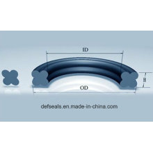 ФКМ/ПТФЭ/бутадиен-нитрильный каучук квад-уплотнения /x кольцо