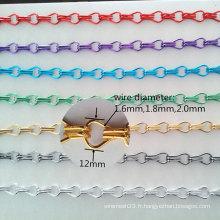 Écran de mouche de chaîne / rideau en chaîne décoratif