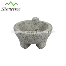 Pedra Natural De Granito Molcajete
