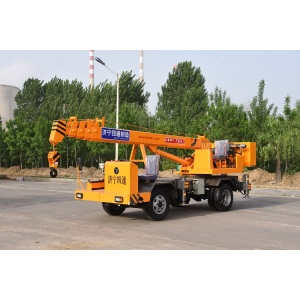 Europe style for for Small Crane 4 ton small mobile crane export to Iceland Manufacturers