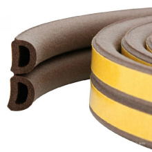 D En forme EPDM Foam Weather Seal Strip