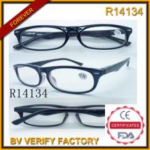 Por mayor dropshipping claro plástico gafa de lectura (R14134)