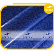 последний дизайн базен riche в парчовую ткань для африканских платье дамы оптовая и розничная FEITEX