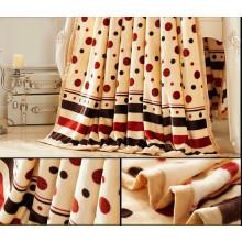 100% полиэстер на заказ Дешевые супер мягкие флисовые одеяла