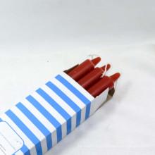 Pequeno decorativo sem cheiro diário uso vela cor