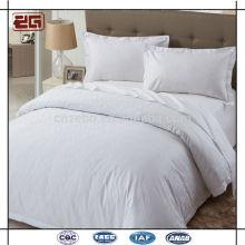 2014 New Design Atacado Plain White Hotel Quarto Linen